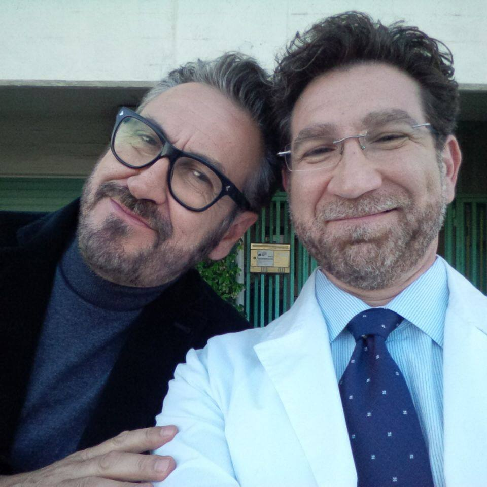Eugenio Gradabosco e Marco Giallini