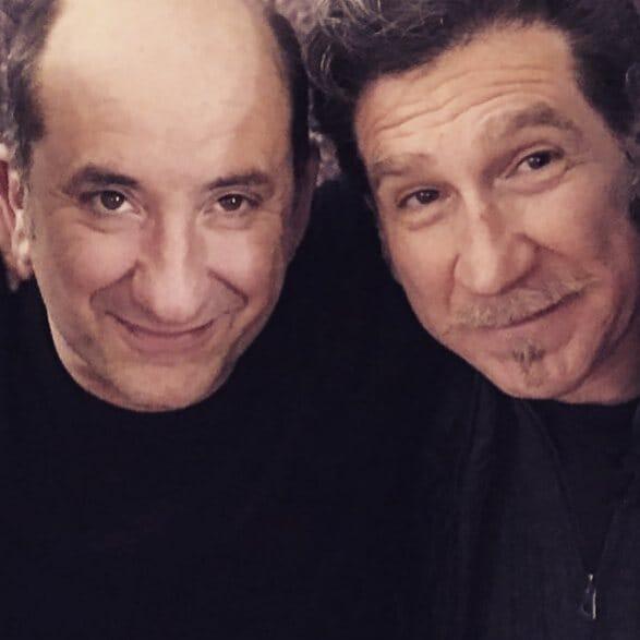 Eugenio Gradabosco e Antonio Albanese